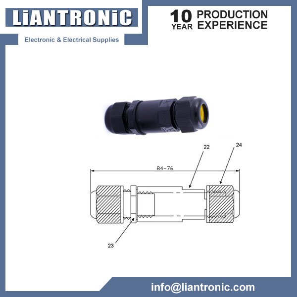 IP68 waterproof Connector title=