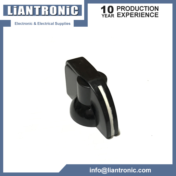 Plastic 6mm Shaft Dia Volume Knob