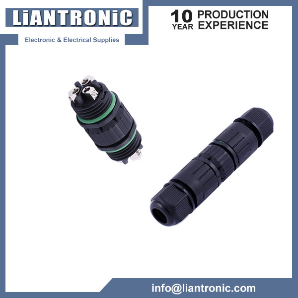 IP67 Waterproof Cable Connector 3Pins