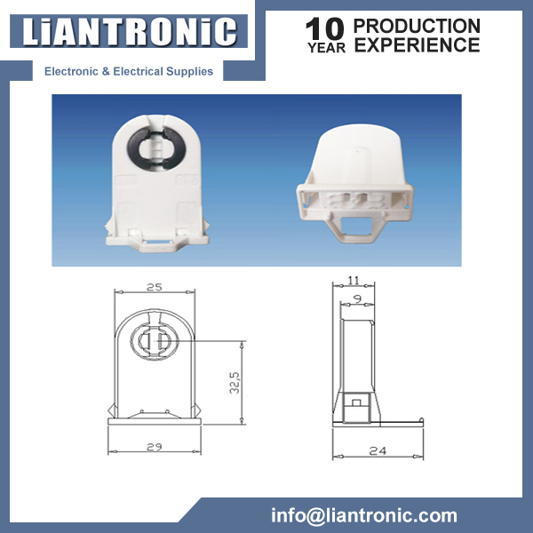 G13 T8 Lamp Holder title=