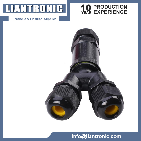 Y type IP68 Outdoor Waterproof Connector