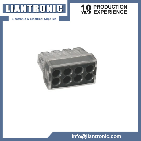 Wago 4-Conductor Push Wire Connector