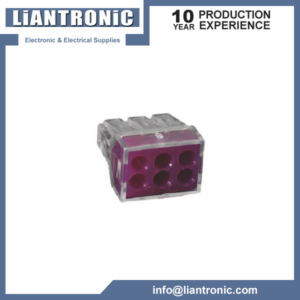Wago Terminal Block Connector 6Way title=