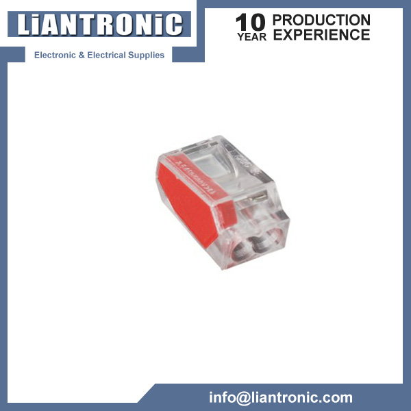 2-Conductor Push-Wire Connector title=