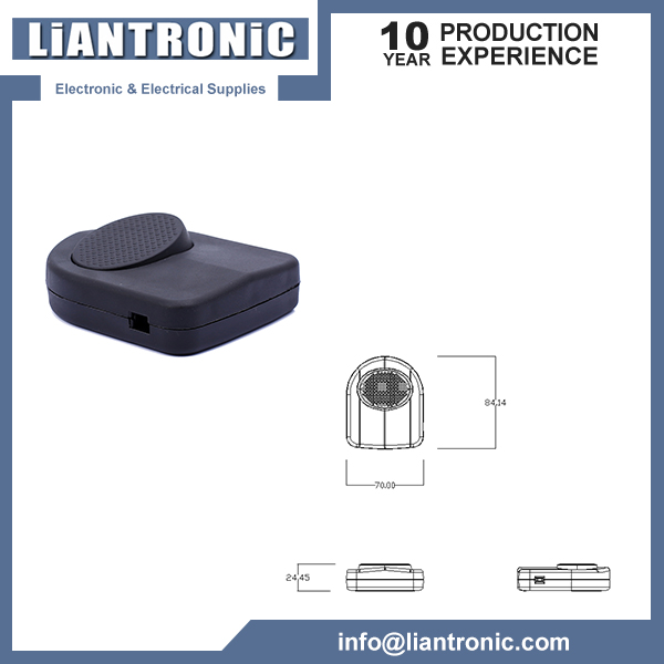 Plastic Round Through Foot Pedal Switch