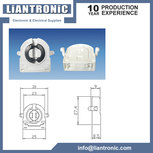 G13/T8 Fluorescent Lamp Holder title=