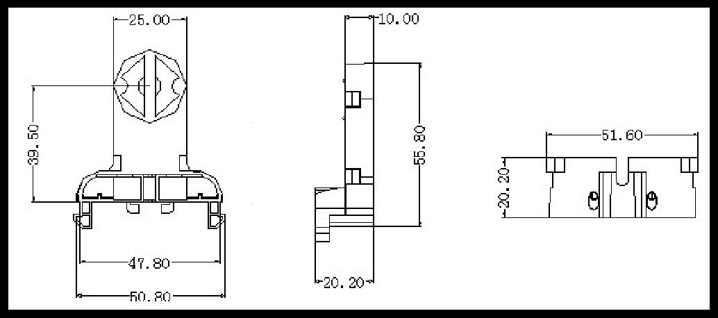 high quality g13 t8 fluorescent tube light lamp socket lampholder